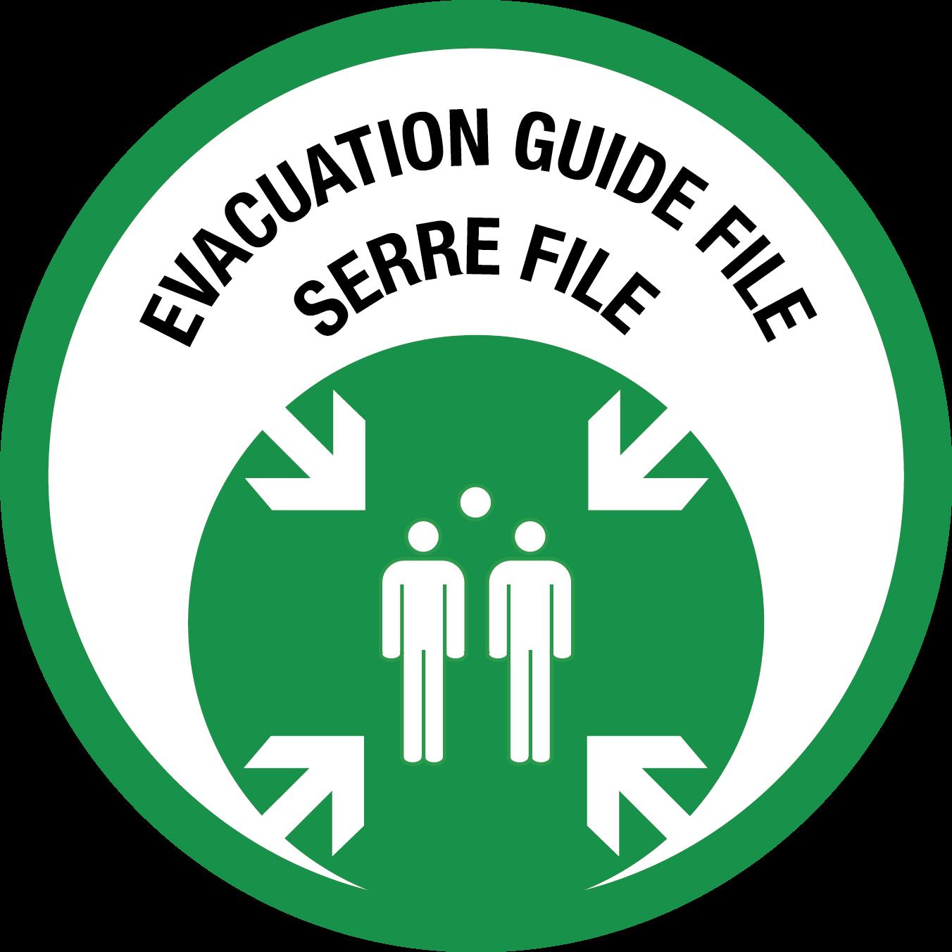 Logo formation evacuation guide file serre file